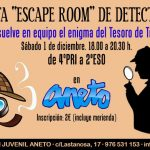 "Fiesta ""Escape room"" de detectives"